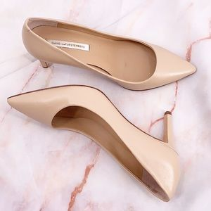 DVF nude heels size 7.5